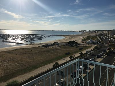 Photo for Apartment facing sea with superb views of the bay of La Baule
