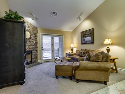 Photo for Baskins Creek 407 Luxury Condo | Walk to Downtown Gatlinburg! | WiFi | Fitness Room & Seasonal Pool