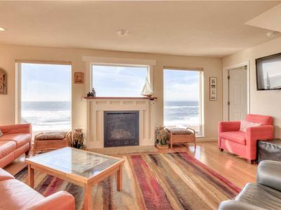 Photo for Enjoy this Oceanfront Beauty with Private Beach Access!