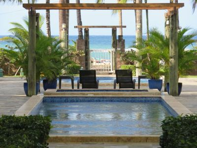 Photo for Duplex MIMOSA 1 -  2 Bedrooms A/C - 2 Bathrooms - Pool/Jacuzzi - WIFI - Sea View