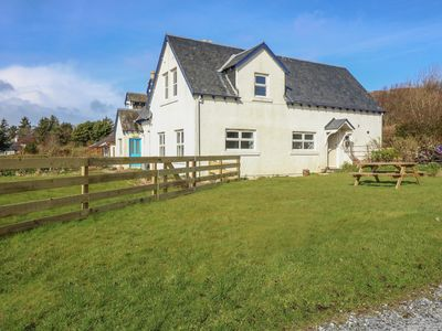 Photo for FAR VIEW COTTAGE, pet friendly, with a garden in Kilchoan, Ref 992884