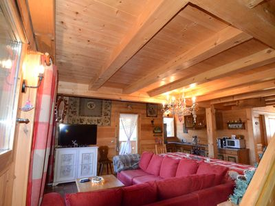 Photo for Apartment 10 people on the slopes in chalet les Grelots
