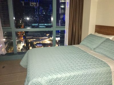Photo for BGC One Uptown 1 Bedroom Corner Unit 16th floor with City View