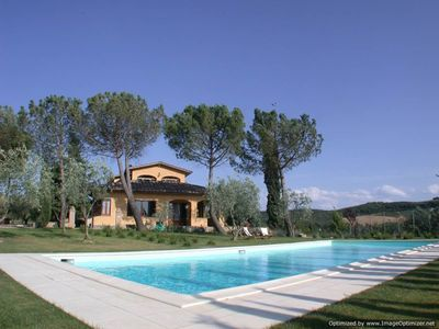 Photo for Staggia Senese villa rental near Siena