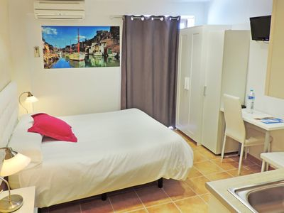Photo for Study 2 Adults, double bed, free wifi, the best beaches in Mallorca