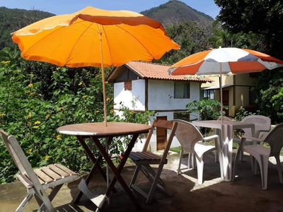 Photo for Beautiful Paraty Chales With Panoramic Mountain And Waterfall Views