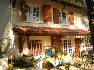 Photo for Pleasant air-conditioned detached house in the pines, beach and Hossegor 1 km