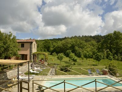 Photo for Farmhouse in the village with swimming pool