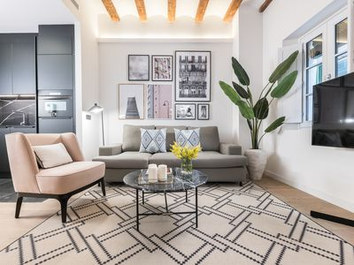 Photo for Charming apartment in the center of Barcelona