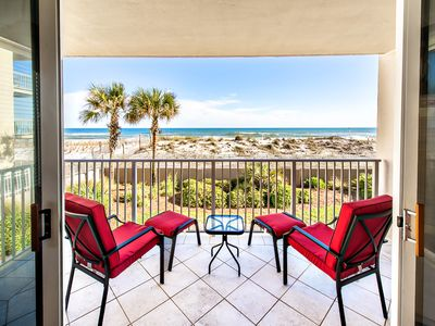 Photo for ⭐Island Princess 200-3BR⭐ End Unit w/ Beach SVC!-GlfFrnt Pool-June 1 to 3 $1150!