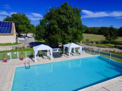 Photo for Gite Les Lavandes 4 people swimming pool on Montpellier wine estate