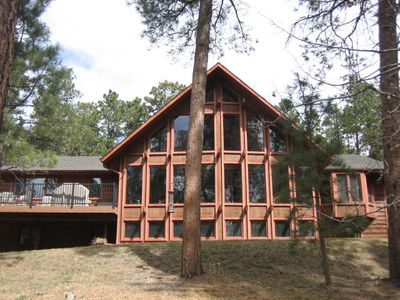 Photo for 4 Bdrm Home on Treed 6.5 Acres 4 Miles from Air Force Academy