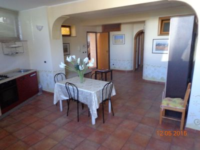 Photo for Large apartment in Taormina