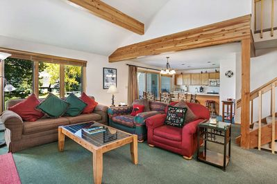 Spacious, inviting and open floor plan.