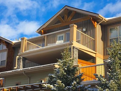 Photo for Spacious, Spectacular Canmore Condo Close to Everything & Views Views Views!