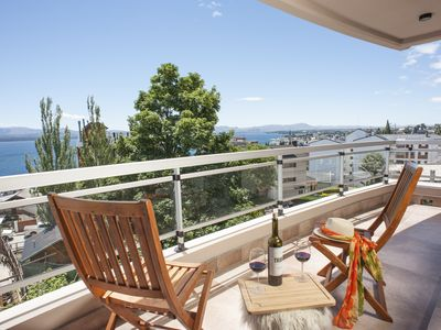 Photo for Stunning apartment, panoramic views and large terrace