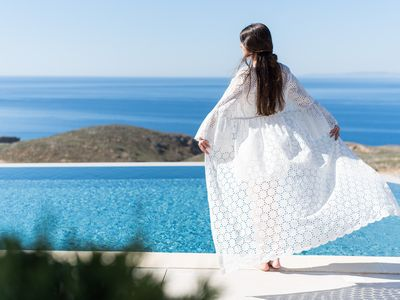 Photo for THETIS, south coast with amazing views and infinity pool!