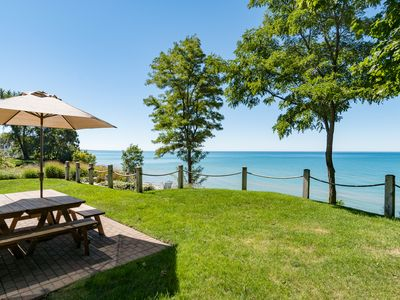 Photo for Private Lake Access, Hot Tub, Fire Pit & Endless Lake Michigan Views