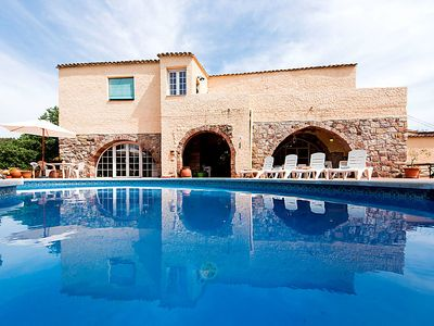 Photo for 4 bedroom Villa, sleeps 8 in Viladecavalls with Pool and WiFi