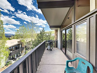 Balcony - Welcome to Snowmass! This condo is professionally managed by TurnKey Vacation Rentals.