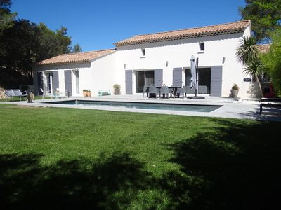 Photo for Mallemort Golf Pont Royal Provence Beautiful House with Pool