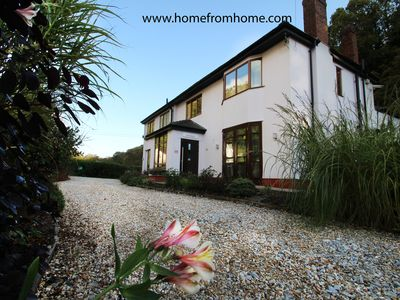 Photo for Your personal former boutique hotel in the heart of the lovely Gower Peninsula