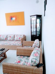 Photo for Large apartment, 5 minutes walk (250 m) from the beach of cove / tortuga.