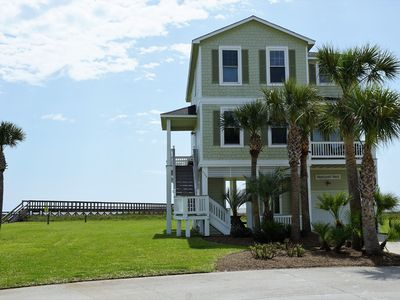 Photo for Pointe West BEACHFRONT next to dune walkover! - 4 bed 4 bath