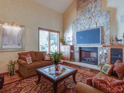 Photo for NEW LISTING! Spacious home in gated community w/shared hot tub & tennis
