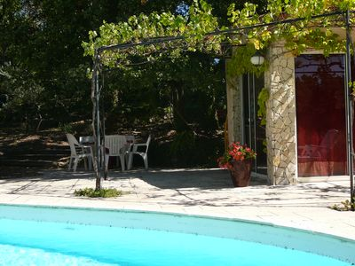 Photo for Shed beautiful Provence with pool and garden