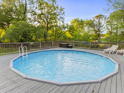Photo for ☀3BR Cottage with Pool☀Walk to Riverside Village in East Nashville- Book Urban