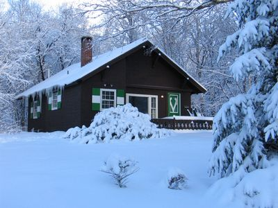 Photo for Cozy chalet nestled in Mittersill Village