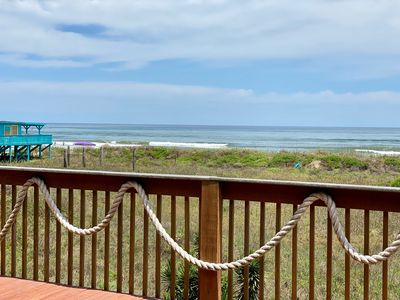 This view of the gulf from the deck never gets old
