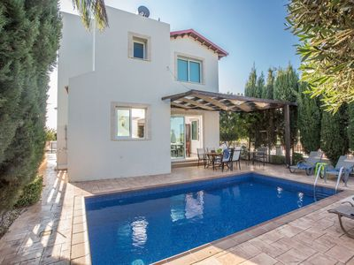 Photo for Villa Foros Enas - Modern 4 Bedroom Pernera Villa with Private Pool - Close to the Beach