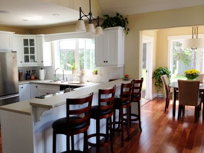 Photo for Executive Summer Home - minutes from the beach! A delightful vacation experience