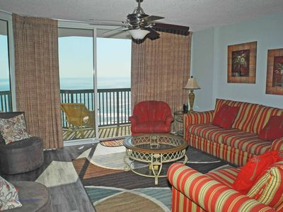 Photo for Ashworth Unit 1005! Stunning Ocean Front Condo! Book your get away today!