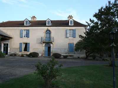 Photo for Large Restored Gascony house with Pool in Rural Setting