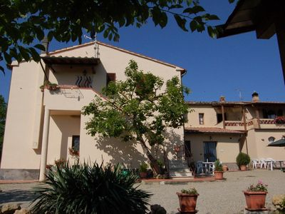 Photo for Holiday apartment San Gimignano for 2 - 4 persons with 2 bedrooms - Farmhouse