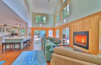 Photo for Gorgeous House In The Heart Killington --  Spring, Summer and Fall in Killington
