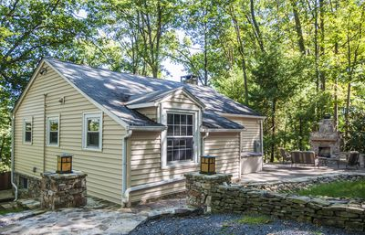 Ski Shore: Captivating Lakefront Cottage w/ Private Dock, Hot Tub & Outdoor Fireplace!