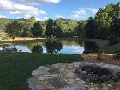 Photo for Rustic Modern Farmhouse~Fishing and Tubing~Outdoor Living Area~Private