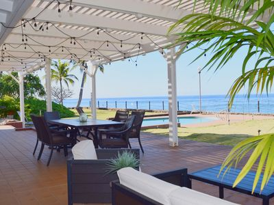 Photo for Private Oceanfront Estate