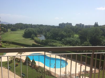 Photo for Apartment with breathtaking views of the Golf
