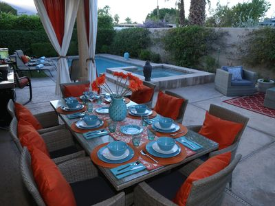 Photo for Relax in our beautiful and stylish Swan house.The city of Palm Springs ID # 3607