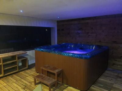 Photo for cottage 6 people with pool and jacuzzi