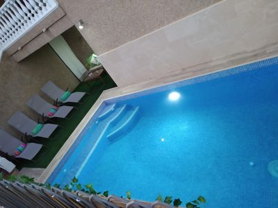 Photo for Villa with private pool, wif, air conditioning, 12km of beautiful beaches.