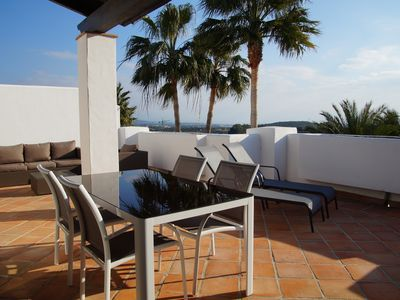 Photo for Luxurious penthouse on the first line in Cortesin golf course in Casares