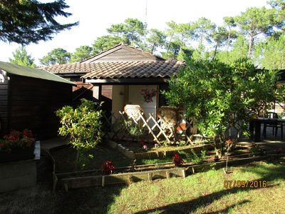 Photo for House 6 pers in the heart of the Landes forest, near ocean