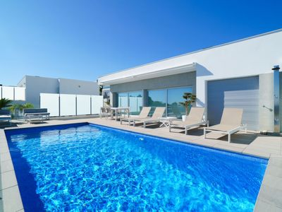 Photo for Vacation home Belle Vue in Moraira - 4 persons, 3 bedrooms