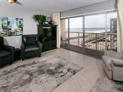 Photo for Islander 606:Amazing BEACH Side Condo~FREE Beach Service, Movies, Golf & More